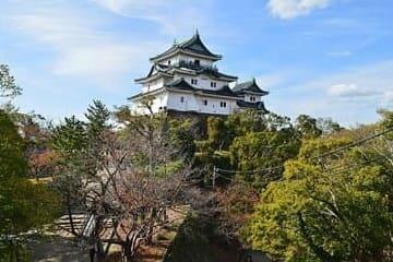 Un paysage du jardin et du château