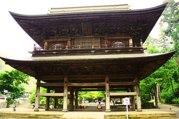 Photo du temple Engaku-ji et de son ancienne structure