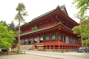 Photo d'une bâtisse d'un sanctuaire de Nikko
