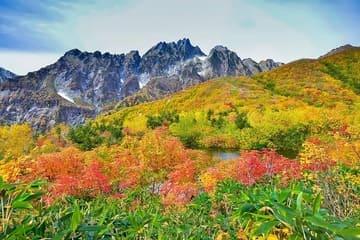 Les couleurs de l'automne sur le parc Chubu Sangaku