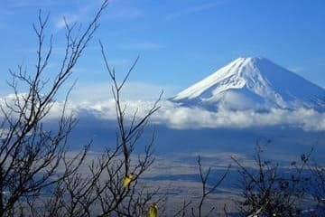 Vue sur le mont Fuji depuis Hakone