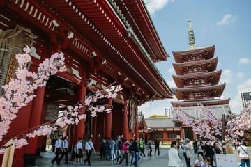 Le quartier aux airs du vieux Tokyo