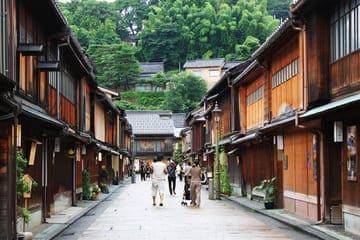 Une ruelle digne de l'époque féodale japonaise