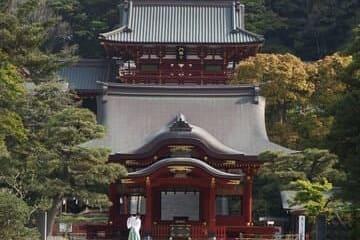 Un magnifique temple de la ville de Kamakura