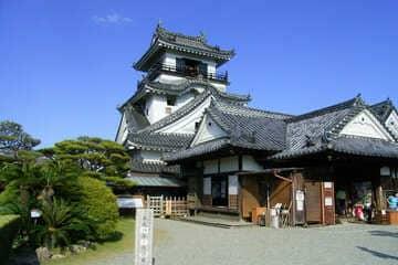 Le petit château du sud de Shikoku