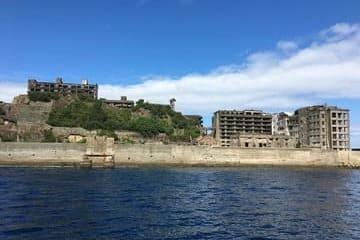 L'île minière abandonnée proche de Nagasaki