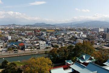 Panorama sur la ville de Imabari