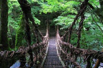 Un des nombreux ponts de la vallée d'Iya