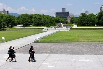 Le site du mémorial de paix de Hiroshima