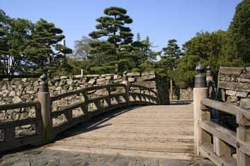 Le parc du château de Tokushima