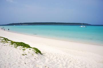 Une photo de ce qui serait la plus belle plage du Japon