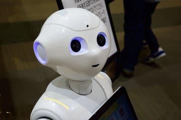 Un robot aux aspects humanoïdes provenant de Flower Robotics