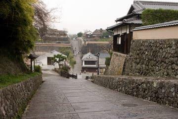 Une belle rue de l'ancienne époque à Kitsuki