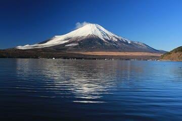 panorama du lac et du mont Fuji