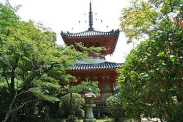 Le somptueux temple de Mitaki-dera à Hiroshima