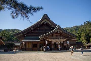 Photo du célèbre sanctuaire à la ville de Matsue