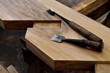 Plusieurs outils pour travailler le bois