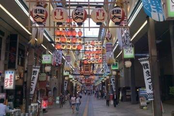 La ruelle marchande de Sapporo
