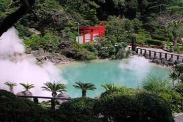 Photo du onsen naturel Umi Jigoku