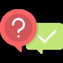 Logo de question réponse